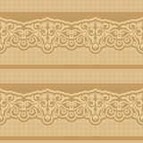 Retro wallpaper. Seamless floral pattern for design, vector Illustration stock illustration