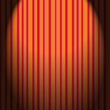 Retro wallpaper stripes Stock Photography
