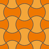 Retro wallpaper tile Royalty Free Stock Photography