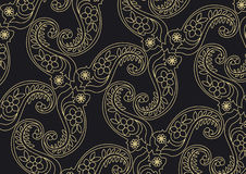 Retro wallpaper vector or background pattern Royalty Free Stock Photos