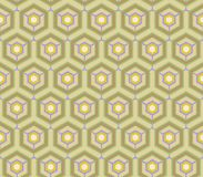 Retro wallpaper - Vintage vector pattern Stock Photo