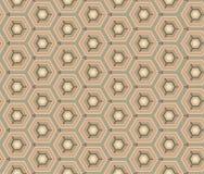 Retro wallpaper - Vintage vector pattern Stock Photography