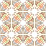 Retro wallpaper - Vintage vector pattern Stock Image