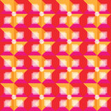 Retro warm abstract patroon als achtergrond Stock Fotografie