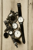 Retro watches Royalty Free Stock Image