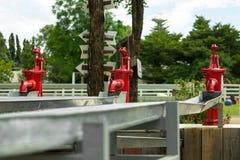 Retro Waterpomp Royalty-vrije Stock Afbeeldingen