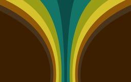 Retro wave. Retro style wave background illustration Royalty Free Stock Images