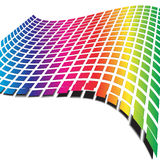 Retro wave pattern Stock Images