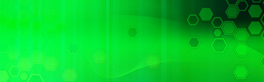 Retro Web header / Banner green Royalty Free Stock Photo