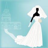 Retro Wedding Background Stock Images