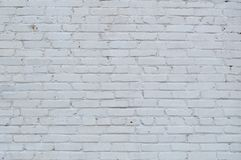 Retro- weiße Backsteinmauerbeschaffenheit Lizenzfreie Stockbilder