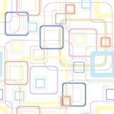 Retro- weiches quadratisches Muster Stockfoto