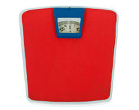 Retro Weight Scale Royalty Free Stock Images