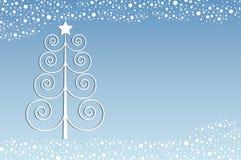 Retro- Weihnachten stock abbildung