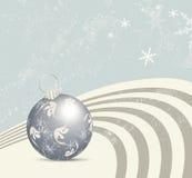 Retro- Weihnachtshintergrund Stockbilder