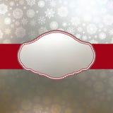 Retro- Weihnachtskarten-Schablone. ENV 8 Lizenzfreies Stockfoto