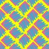Retro- Weinlese 80 Memphis-Art der Modeillustration Stockbild