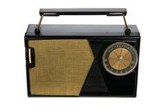 Retro- Weinlese-portables Radio Stockbild
