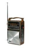 Retro- Weinlese-portables Radio Stockfotos