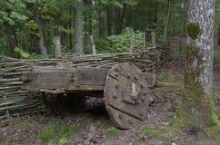 Retro wheelbarrow Royalty Free Stock Photography