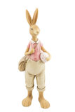 Retro Wielkanocny Męski królik Zdjęcie Stock
