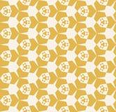 Retro wijnoogst herhaalt ontwerp voor drukken, decor, textiel, stof Royalty-vrije Stock Foto