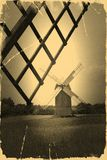 Retro windmill Royalty Free Stock Photo