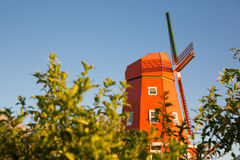 Retro windmill Stock Images