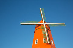 Retro windmill Stock Photo
