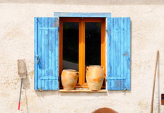 Retro window. Royalty Free Stock Photography