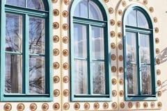 Retro windows Stock Photography
