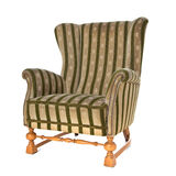 Retro wing chair Royalty Free Stock Images