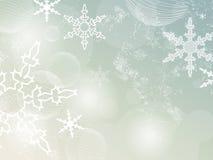 Retro- Winterhintergrund Stockbilder