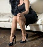 Retro woman Royalty Free Stock Photography