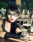 Retro woman Stock Photography