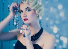 Retro woman Royalty Free Stock Image
