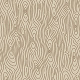 Retro wood seamless background. Vector illustration Royalty Free Stock Photo