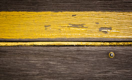 Retro Wood Stripe Stock Photography