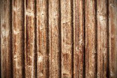 Retro wooden background. Horizontal close-up photo of old rough wooden background Royalty Free Stock Images