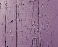 Lilac background texture of old boards with shabby and cracked paint stock photos