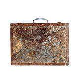 Retro wooden suitcase. Royalty Free Stock Photos