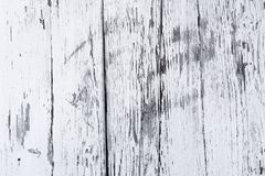 Retro wooden wall whitewash lime, modern style, weathered cracky messy wooden backdrop, vintage background for design royalty free stock images