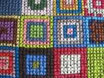 Retro workmanship embroiderers Royalty Free Stock Image