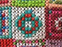 Retro workmanship embroiderers Stock Image