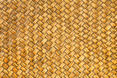 Retro woven bamboo wood pattern Stock Images