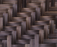 Retro woven wood pattern background Royalty Free Stock Photography