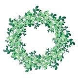 Retro wreath Stock Photo