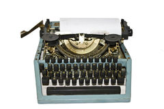 Retro writing machine Stock Images