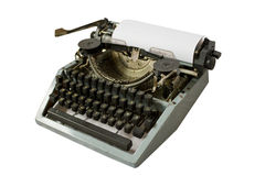 Retro writing machine Stock Image