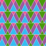 Retro wzór geometryczni kształty Kolorowy mozaiki tło Geometrycznego modnisia retro tło, umieszcza twój tekst na wierzchołku ono ilustracja wektor